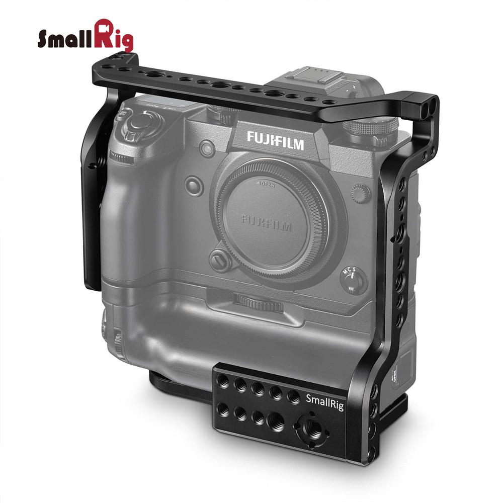 【500円OFFクーポン付き】【送料無料】SmallRig Fujifilm X-H1カメラ専用ケージ 撮影 カメラ用品 diy 富士フイルムX-H1用 縦位置バッテリーグリップVPB-XH1も保護-2124 【海外直送】