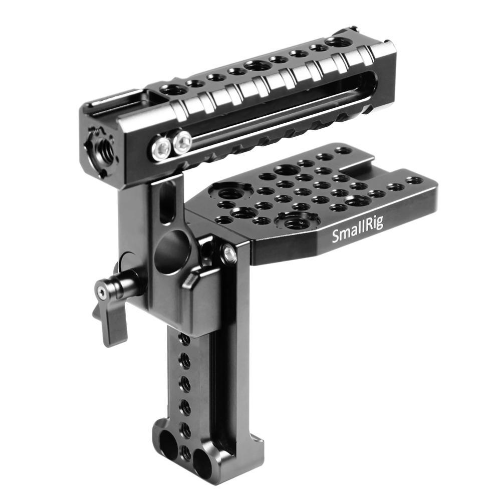 ソニーXLR-K2Mを守るための専用設計 快適な手持ち感 1 25%OFF 4インチ 激安通販専門店 3 8インチネジ穴およびARRI位置決め穴 月間優良ショップ受賞 A7II 海外直送 A7 SmallRig公式 A9専用ケージ対応-2080 送料無料SonyXLR-K2MヘルメットキットハンドルキットカメラDIYトップハンドルSonyA7RIII