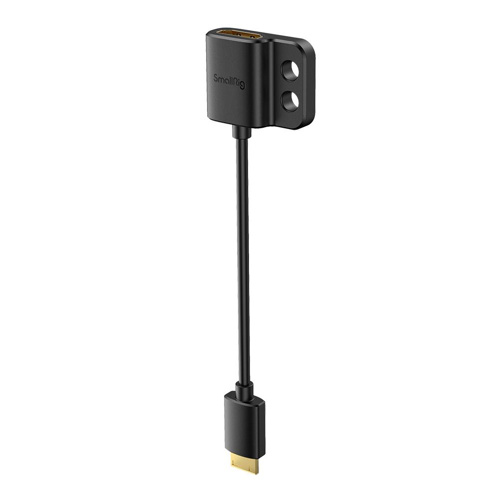 HDMI変換 タイプC 日時指定 Type C 月間優良ショップ受賞 SmallRig公式 海外直送 高級 送料無料スーパースリム4KHDMI変換アダプタ タイプC→タイプA 3020