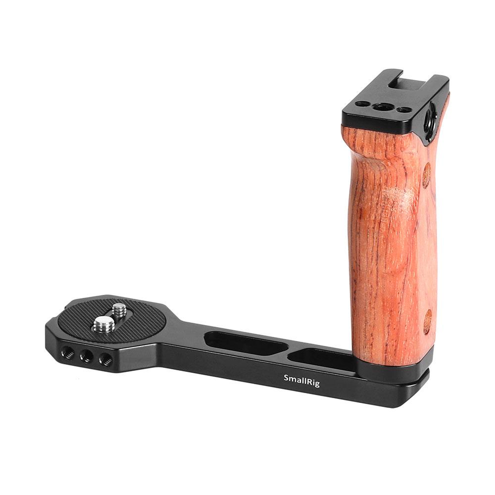 ランキングTOP10 Smallrigにぴったりあなたのカメラを装備させる 月間優良ショップ受賞 SmallRig公式 おすすめ 海外直送 送料無料RoninSZhiyunCraneシリーズ用木製ハンドルサイドハンドルハンドルジンバルHandheldGimbal左用オリジナルデザイン拡張性軽量取付便利耐久性耐食性2222