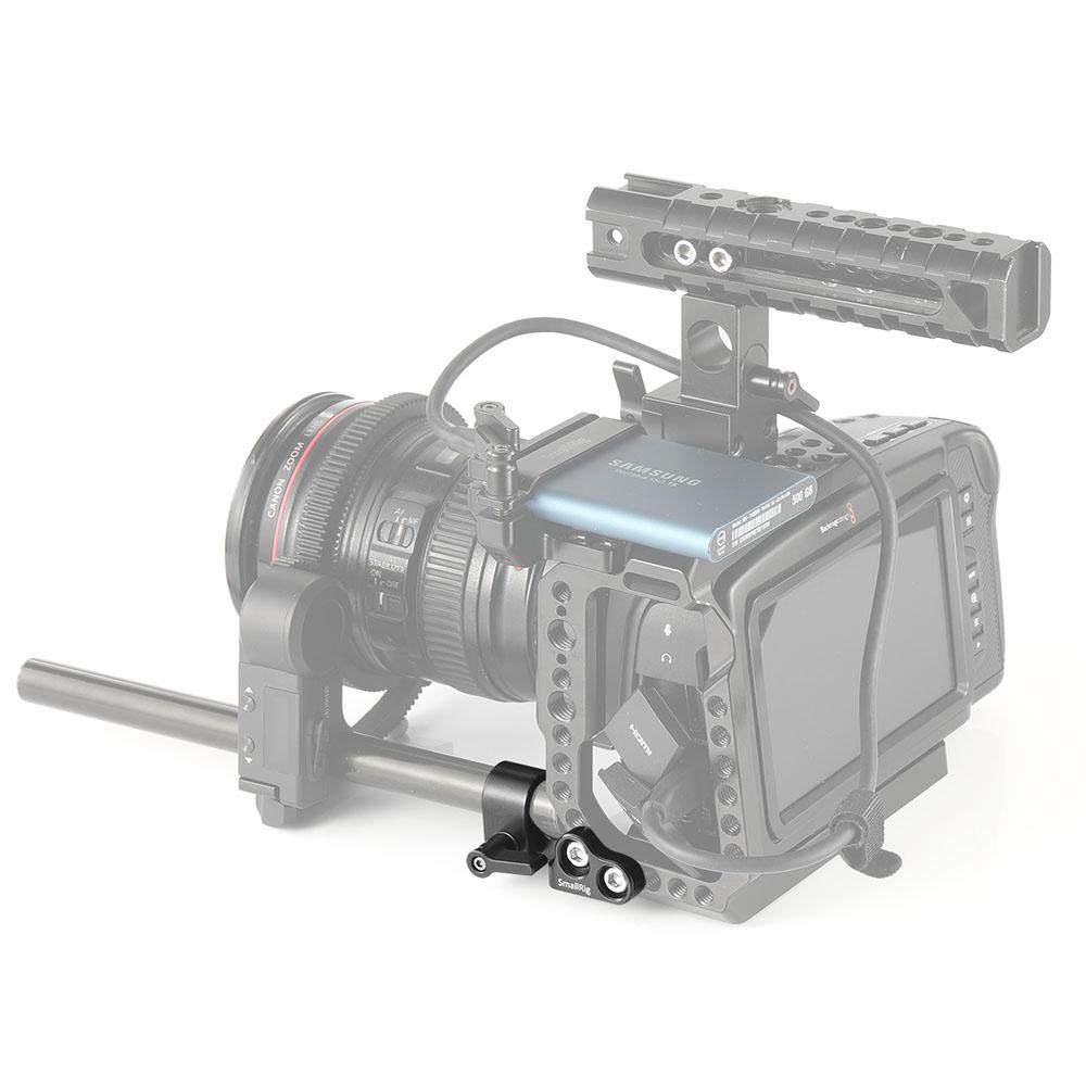 BMPCC 4K 税込 6Kケージ用 15mm シングルロッドクランプ Smallrigにぴったりあなたのカメラを装備させる 海外直送 SmallRig公式 6Kケージ用15mmシングルロッドクランプ撮影用品カメラアクセサリーDIY-2279 月間優良ショップ受賞 新作販売 送料無料BMPCC4K