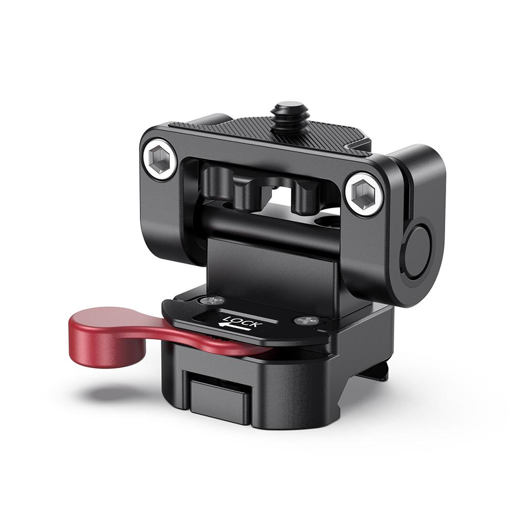 Smallrigにぴったりあなたのカメラを装備させる 月間優良ショップ受賞 SmallRig公式 海外直送 開店記念セール オリジナル 送料無料モニターホルダーマウントカメラフィールドモニターブラケットNATOクランプ装備180°調整可能アルミ製撮影補助ツールDSRLリグ-2100