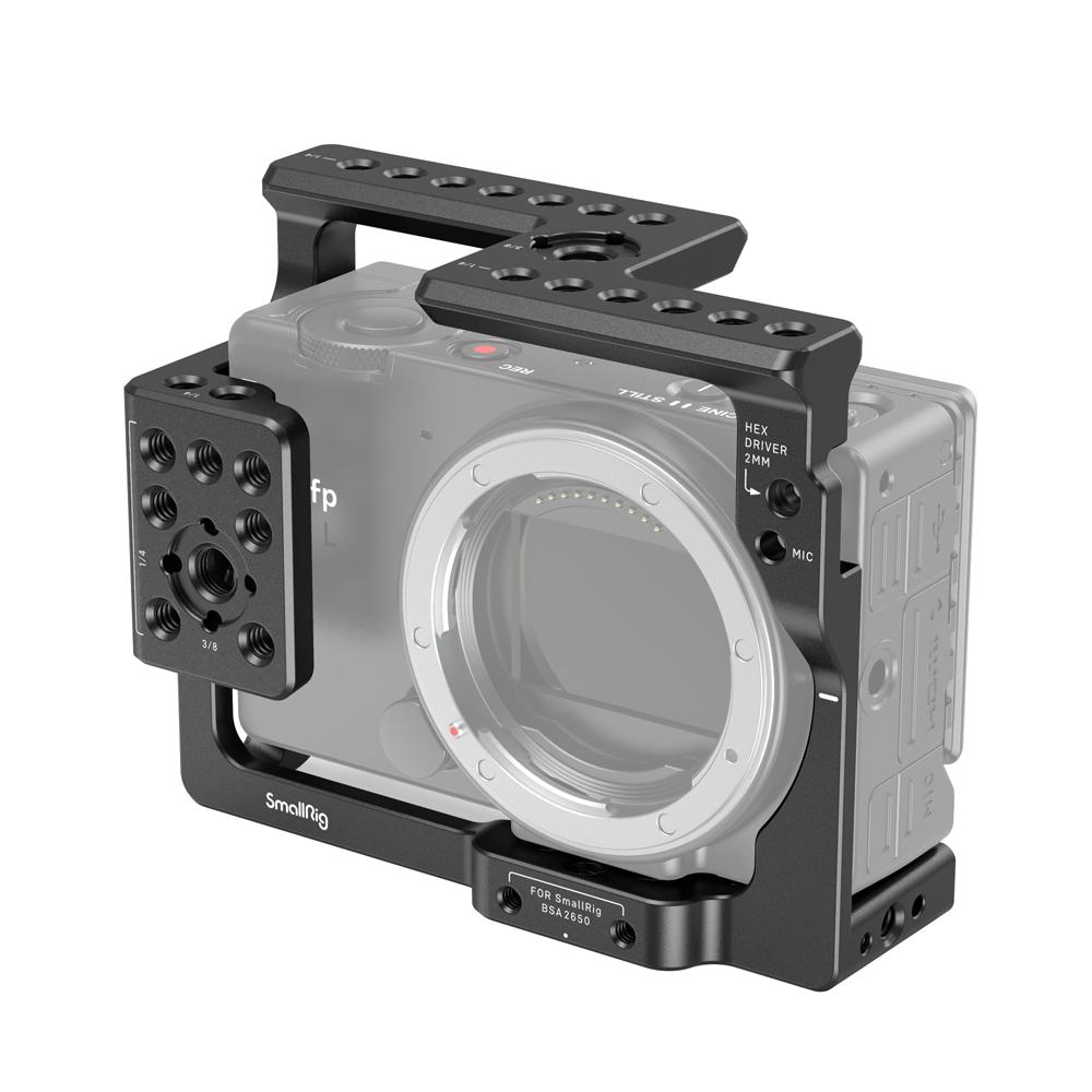 カメラにぴったり 撮影の可能性が広がり 国内送料無料 月間優良ショップ受賞 SmallRig公式 SIGMAfp fpL用ケージ3211 お得セット 海外直送