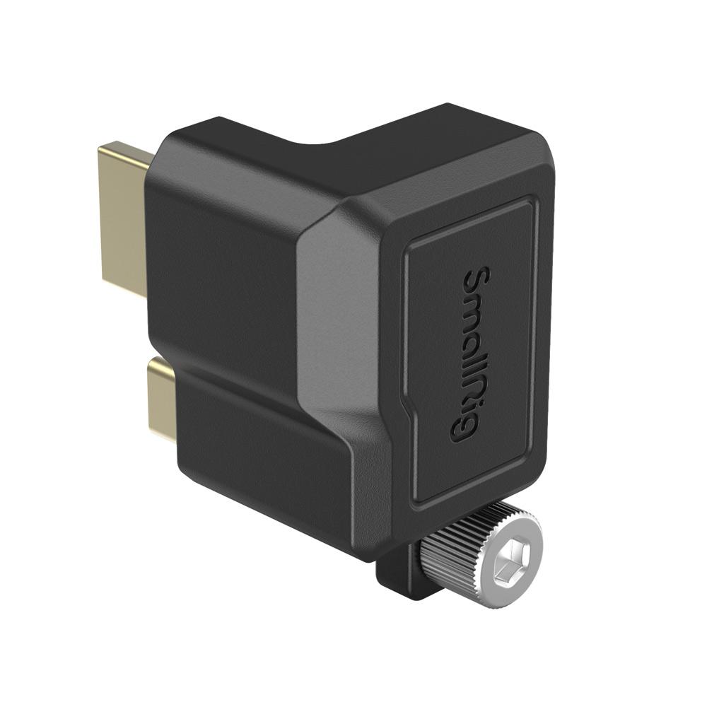 BMPCC 6K Pro HDMI USB-C変換 SmallRig 月間優良ショップ受賞 BMPCC6KPro用直角型HDMI 3270 USB-C変換アダプター3289 メーカー公式ショップ 祝日 海外直送 SmallRig公式