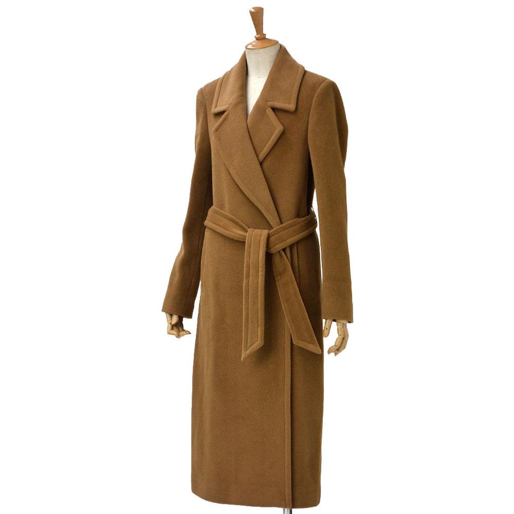 TAGLIATORE【タリアトーレ】ロングチェスターコート MOLLY 77062 A1113 alpaca wool CAMEL(キャメル)
