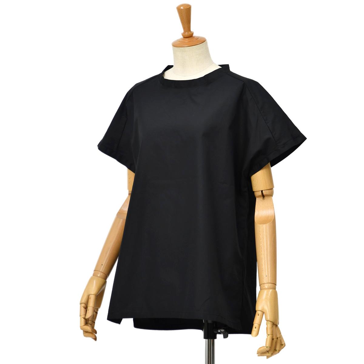 BARENA VENEZIA【バレナ ヴェネチア】半袖ブラウス TSD2747 2383 T-Shirt Eater BAgio Nero コットン ブラック