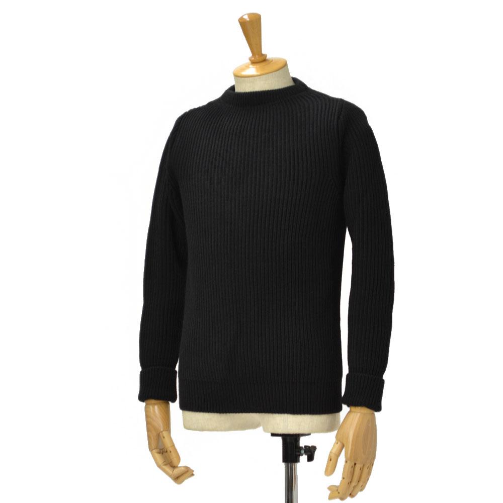ANDERSEN-ANDERSEN【アンデルセンアンデルセン】クルーネックニット AD-002 CREW NECK wool BLACK(ブラック)