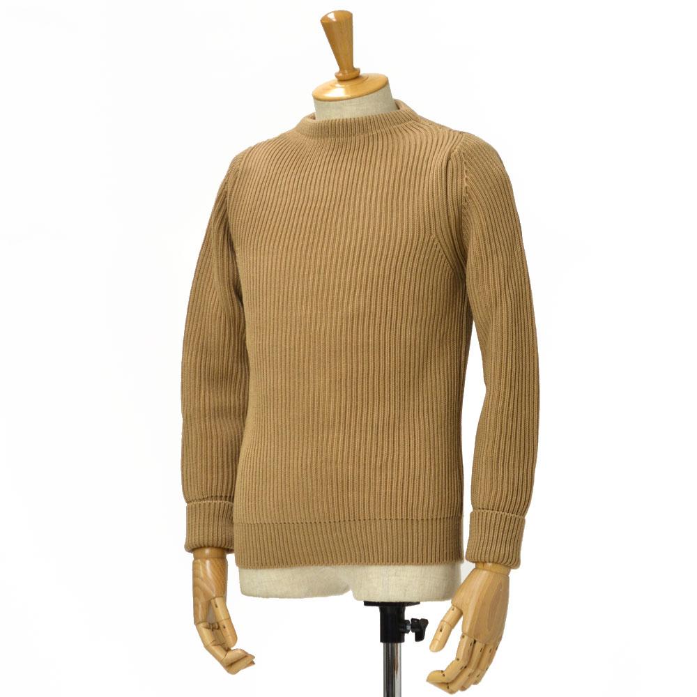 ANDERSEN-ANDERSEN【アンデルセンアンデルセン】クルーネックニット AD-002 CREW NECK wool CAMEL(キャメル)