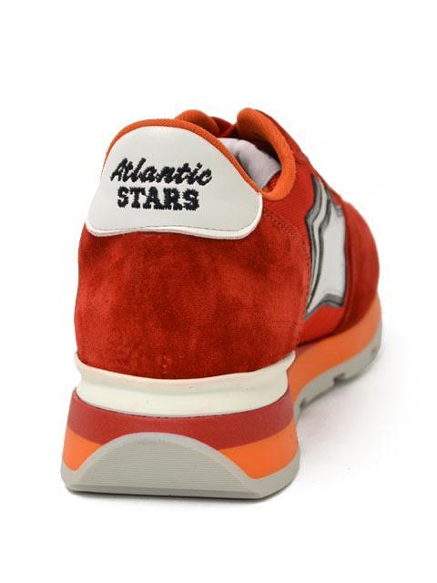 Atlantic STARS 스니커 ANTARES FR-85 B suede nylon CAMOSCIO FUOCO(레드)