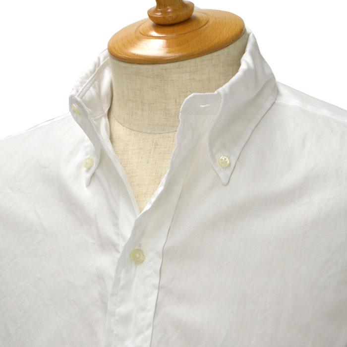 INDIVIDUALIZED SHIRTS×RESOLUTE(林 芳亨氏) Special Model(Front 6 Button)【インディビジュアライズドシャツ×リゾルト】ボタンダウンシャツ 100双 ピンポイントオックス コットン ホワイト