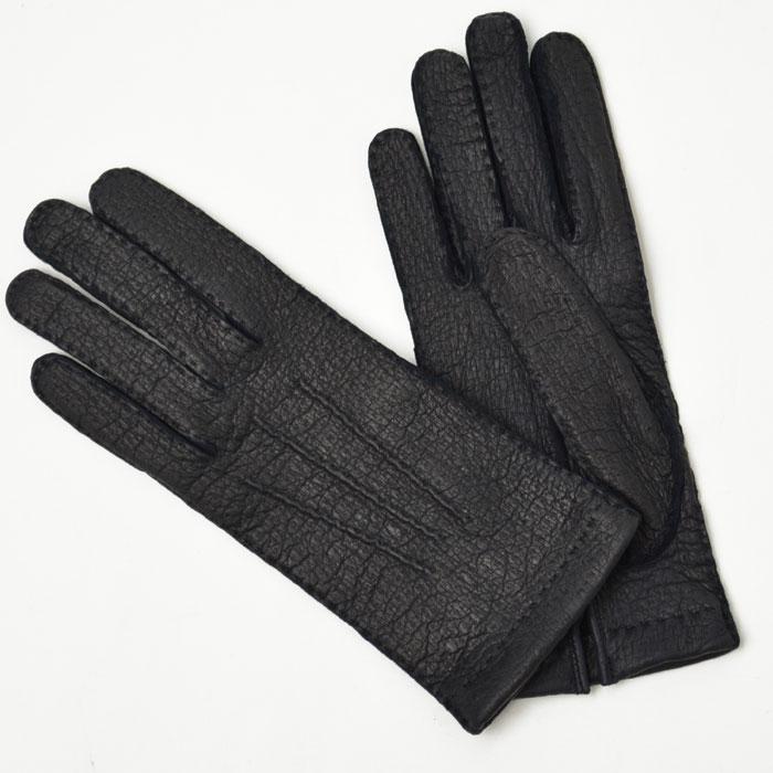 GANTIER CAUSSE【ガンコス/コース】手袋/グローブ H0003 PEC MARINE No lining ネイビー ペッカリー