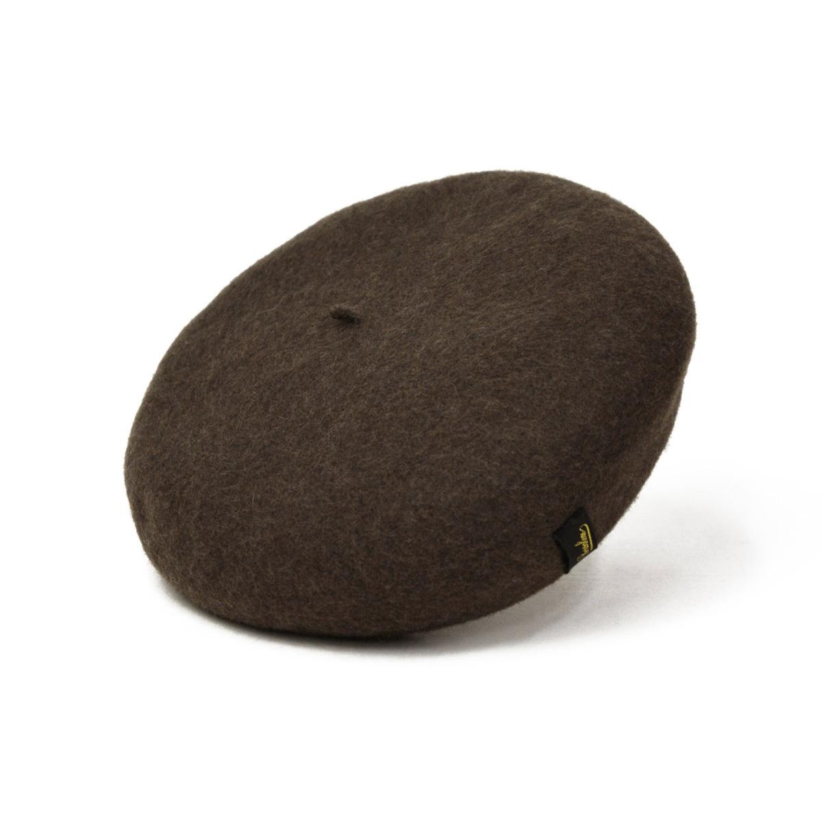 Borsalino 【ボルサリーノ】ベレー帽 B80005 0003113 ウール フェルト ブラウン