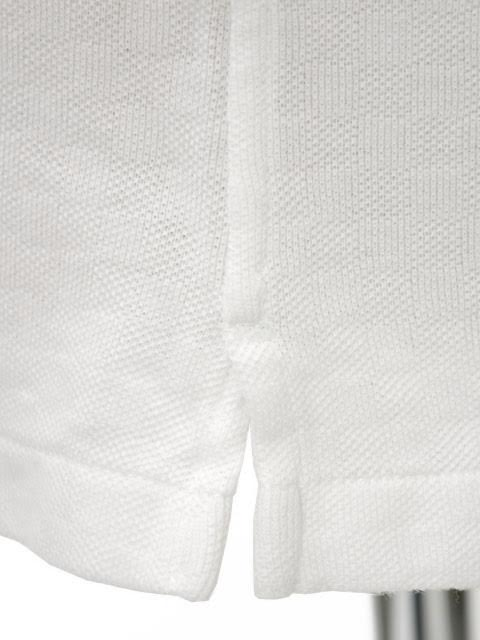 Give-aways with BARBA CULTO La Polo Jersey shirt amjq06 cotton WHITE (cotton Jacquard polo shirt with white)