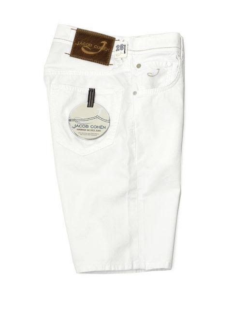JACOB COHEN 바로 데님 PW6633 12356 cotton stretch WHITE (화이트)