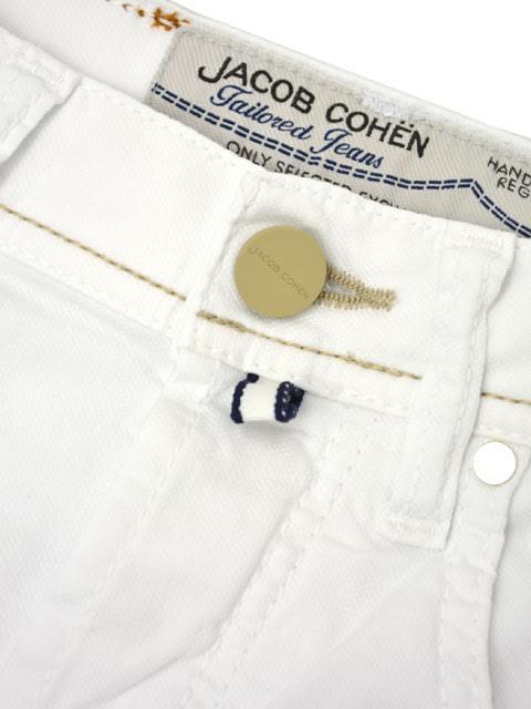 JACOB COHEN 바로 데님 PW6633 12356 cotton stretch WHITE (화이트)