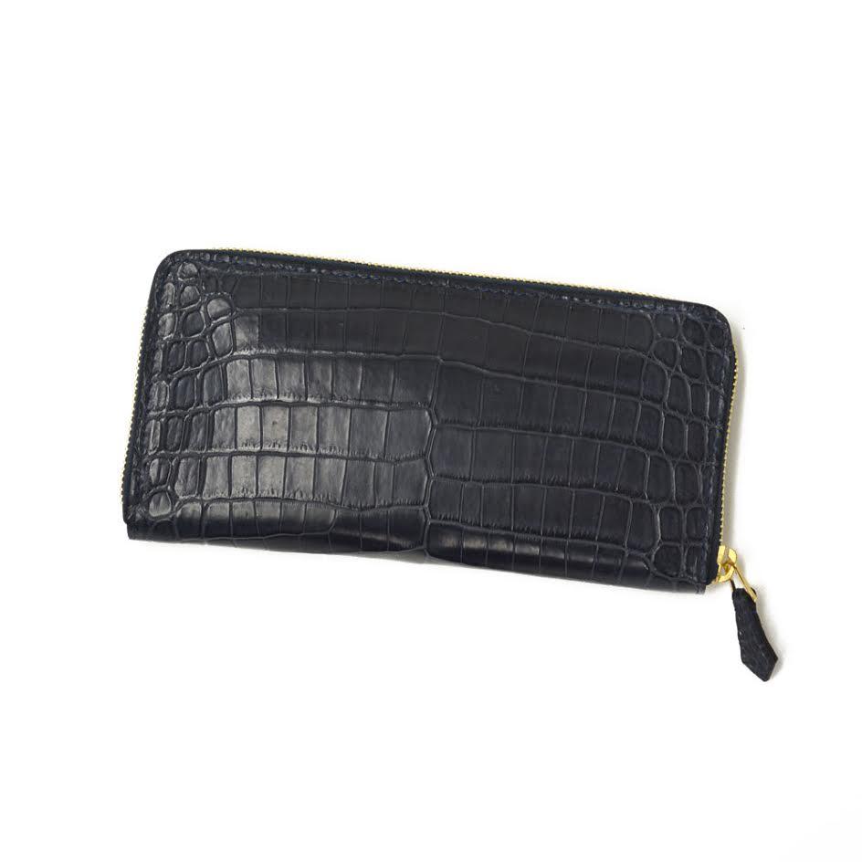 【ご予約 納期2ヶ月】CISEI【チセイ/シセイ】CROCODILE zip wallet (クロコダイル ジップウォレット)