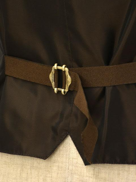 TAGLIATOREVEST最好背心BRIAN/F 07UIK125 V1041布赖恩羊毛丝绸三鲤鱼×棕色
