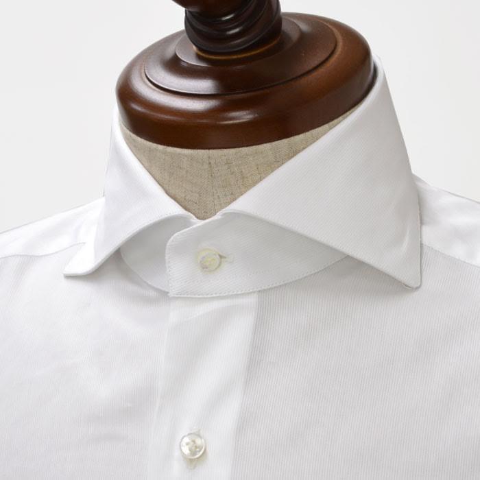 BARBA【バルバ】ドレスシャツ BRUNO I1U262PZ5017U cotton JACQUARD STRIPE WHITE(コットン ジャガード ストライプ ホワイト)