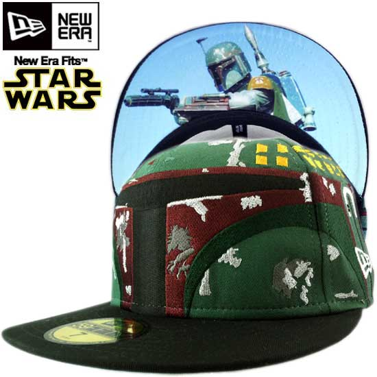 new product 87c46 7be12 ... release date cio inc star wars x new era cap under visor boba fett green  black