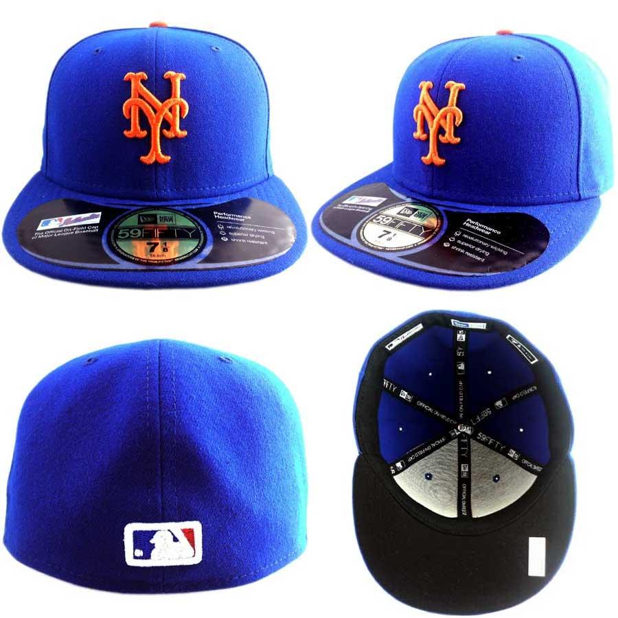 cio-inc  New Era Cap NEW AUTHENTIC HOME New York Mets Blue Orange ... f8d74a41ca1