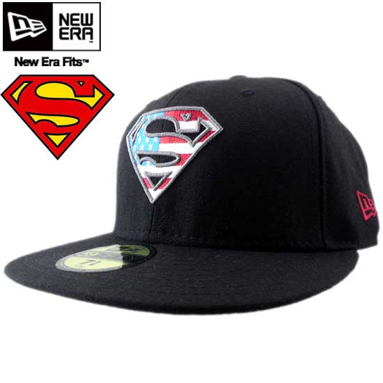 b85e879ff97c New Era x new era Superman Cap 2TONE LOGO S-Shield Black   U. S. FLAG x  Superman CAP-to-tone logo エスシールド black   USA flag