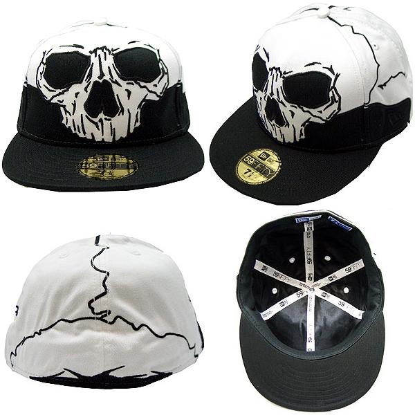 뉴에라캐프오르오바미스타소켓트브락크/화이트 New Era Cap ALL OVER Mr. SOCKETS Black/White