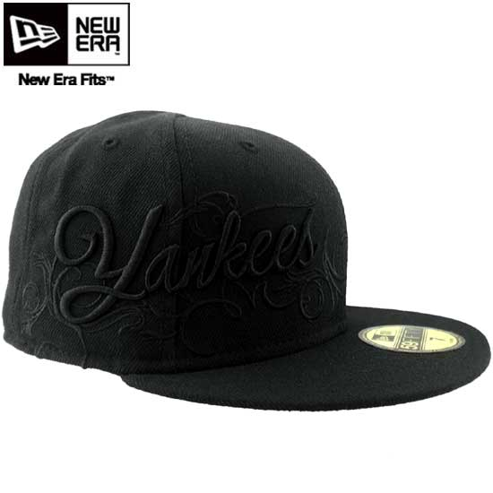 cio-inc  New gills cap black logo side script New York Yankees black    white New Era Cap BLACK LOGO SIDE SCRIPT New York Yankees Black White  0878281e16f