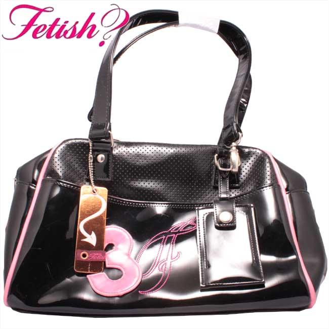 フェティッシュ レディース バッグ ミニボストン ブラック/ピンクFETISH Ladies' bag Mini Boston Black/Pink【あす楽対応_近畿】【あす楽対応_中国】【あす楽対応_四国】【あす楽対応_九州】