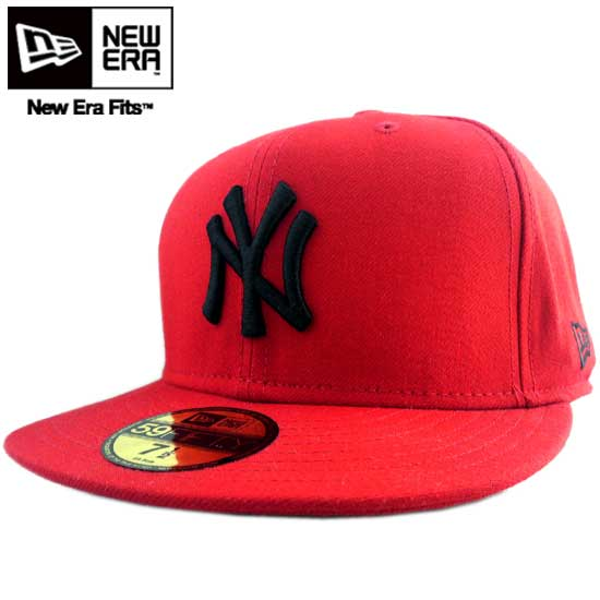 cio-inc  New gills cap black logo New York Yankees scarlet red   black New  Era Cap BLACK LOGO New York Yankees Scarlet Red Black  6049b0c4ed1