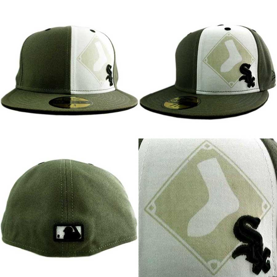 New Era Cap DONZI Chicago White Sox Jalpeno/Black 뉴에라캐프돈지시카고화이트속스쟈레페노/블랙