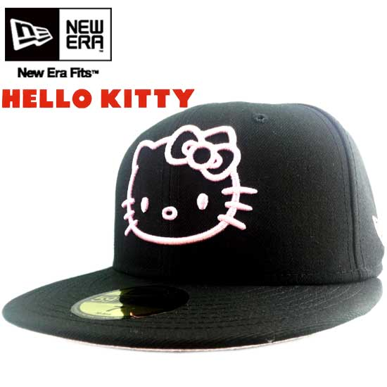 65044d971 New era x Hello Kitty Cap Kitty black / pink New Era×HELLO KITTY Cap KITTY  Black / Pink