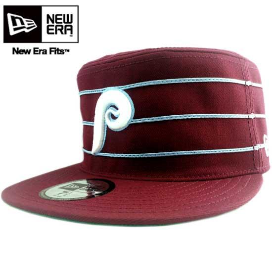 New era Cap MLB pillbox Philadelphia Phillies Burgundy / white New Era Cap MLB PILL BOX Philadelphia Phillies Wine Red/White