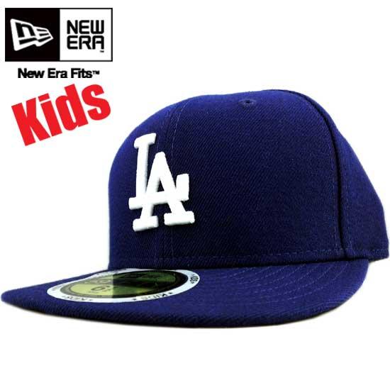 light blue la baseball cap new era kids size authentic dodgers white baby navy