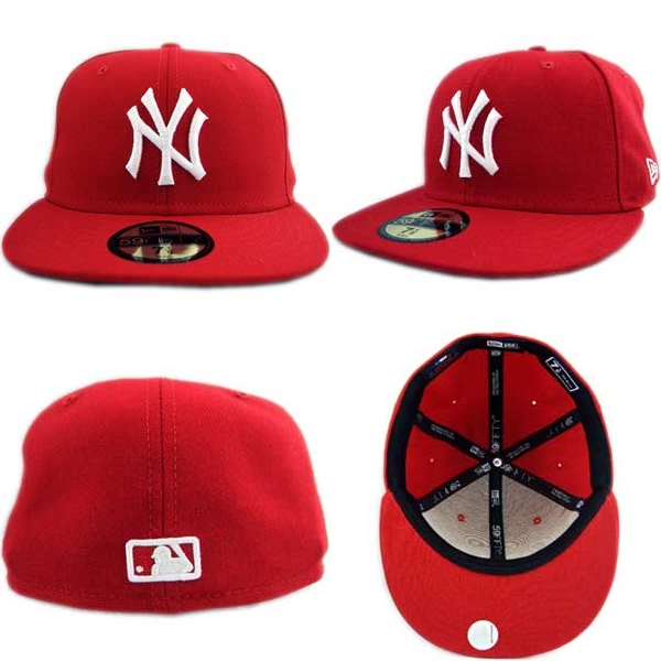 New Era Cap WHITE LOGO New York Yankees Red White new era Cap logo New York  Yankees red   white 7c25e51bd9c
