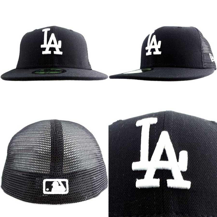 cio-inc  New gills cap trucker mesh series Los Angeles Dodgers black ... fed6804e3ab