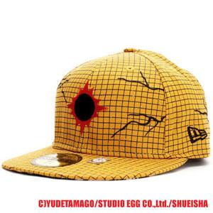 New era x kinnikuman man Cap sunshine yellow / black / red New Era×KINNIKUMAN Cap SUNSHINEMAN Yellow / Black