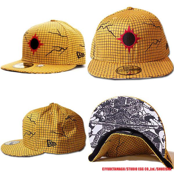 뉴 에러×킨육 맨 캡 선샤인 옐로우/블랙/레드 New Era×KINNIKUMAN Cap SUNSHINEMAN Yellow/Black