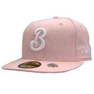 뉴에 라 캡 화이트 로고 요코하마 (요코하마) ベイスターズ 핑크/화이트 New Era Cap WHITE LOGO Yokohama Bay Stars Pink/White
