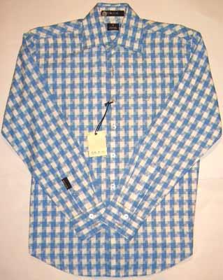 【SALE】ショーンジョン L/S シャツ チェック スカイブルーSEAN JOHN L/S Shirt Ckeck Sky Blue 【あす楽対応_近畿】【あす楽対応_中国】【あす楽対応_四国】【あす楽対応_九州】