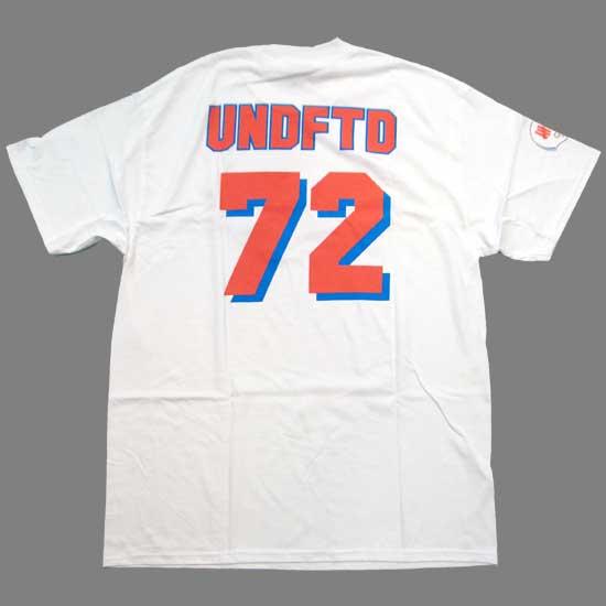 安迪费特德安迪费特德72 S/S T恤白UNDEFEATED Undefeated 72 S/S TEE White