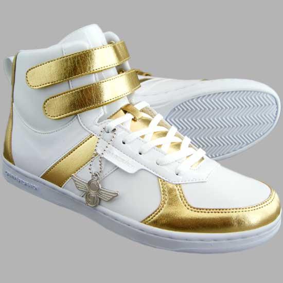 Creative recreation dicoco cgalow Womens white / metallic gold Creative Recreation Dicoco in WCR3919 Womens White/Metallic Gold