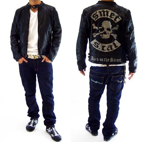 SMET RIDERS LEATHER JACKET Black Smet rider leather jacket black