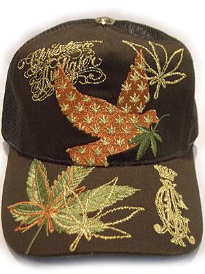 CHRISTIAN AUDIGIER CAP NEW CA CANNABIS COLLECTION BIRD ARMY GREEN Christian  Aude Jeh cap new CA cannabis collection bird army is green 932764a090c