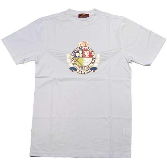 リッチヤング ソサエティークレスト S/S Tシャツ ホワイトRICH YUNG SOCIETY CRESTS/S TEE White【あす楽対応_近畿】【あす楽対応_中国】【あす楽対応_四国】【あす楽対応_九州】