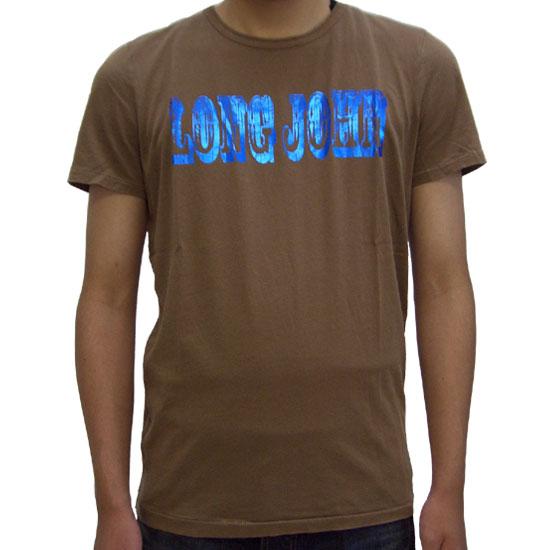 ヌーディージーンズ フリッツ ロング ジョン S/S Tシャツ 130443 ブラウンNUDIE JEANS FRITZ LONG JOHN S/S TEE 130443 Brown【あす楽対応_近畿】【あす楽対応_中国】【あす楽対応_四国】【あす楽対応_九州】