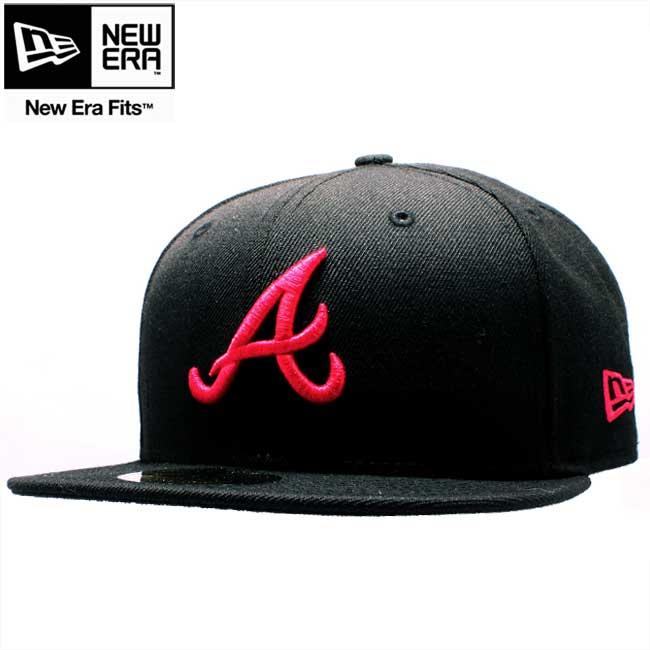 cio-inc: New gills cap 59FIFTY custom pink logo Atlanta