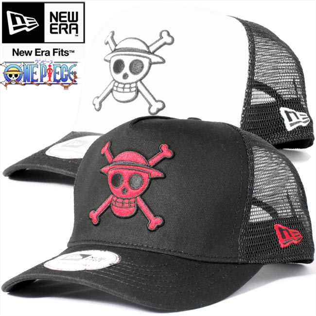 d06a5845b88 ... cheap one piece x new era trucker mesh cap monkey d luffy 2 colors one  piecenew