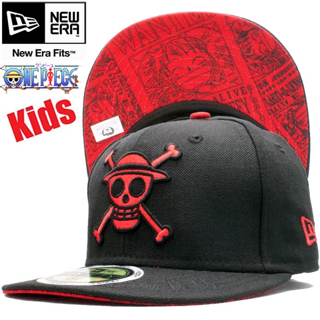 61e7c83be29 Dress X new gills 5950 kids cap under visor monkey deal fee Brach s carlet ONE  PIECE X New Era 59FIFTY Kids Cap UV Monkey