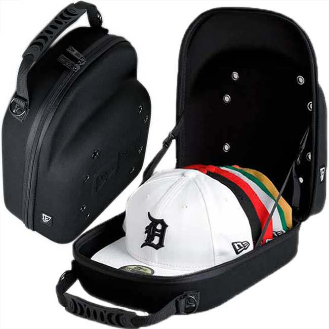 New era series 81 nylon backpack black reflector with Cap carrier black New Era Series 81 Nylon Back Pack Black Reflector With Cap Carrier Black