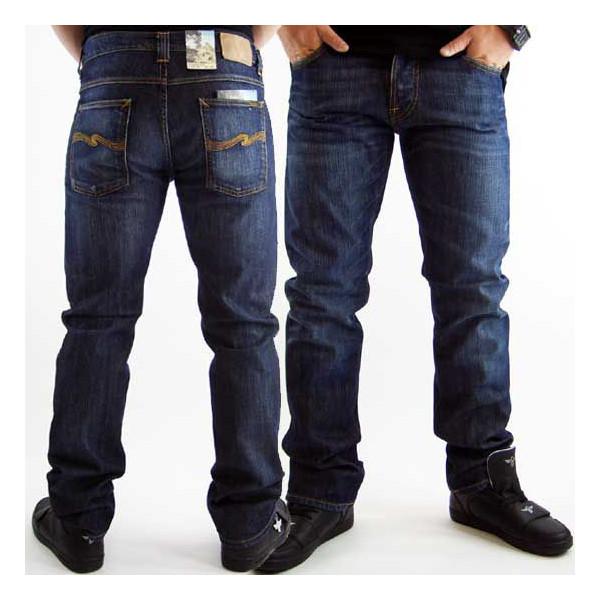 ヌーディージーンズ アベレージジョー ストレートレッグ コールドデニムNudie Jeans Average Joe Straight Leg Cold Denim【あす楽対応_近畿】【あす楽対応_中国】【あす楽対応_四国】【あす楽対応_九州】
